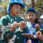 ひまわり組は、春を見つけに赤坂山公園へ♪